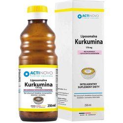ACTINOVO Liposomalna Kurkumina 170mg bez alkoholu - 250ml (50 dni)