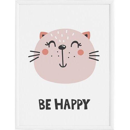 Plakaty, Plakat Be Happy 40 x 50 cm