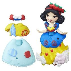 Disney Princess Mini Laleczka z sukienką Śnieżka
