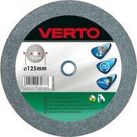 Tarcze ścierne, Tarcza do szlifowania VERTO 61H603 125 x 20 x 16 mm do metalu (2 sztuki)
