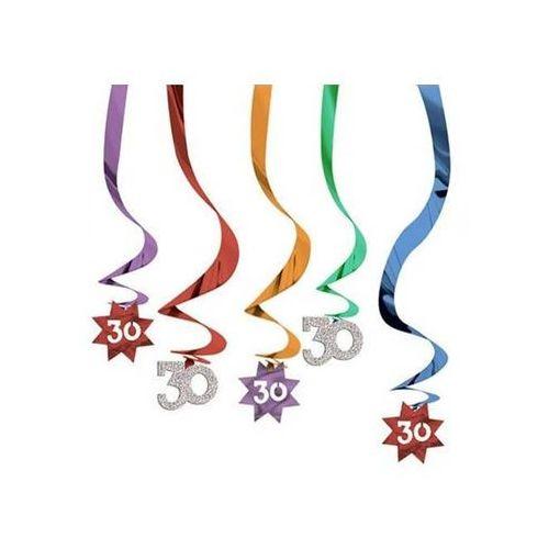 Pozostałe dekoracje, Dekoracja metaliczne świderki kolorowe - 30 tka - 5 szt.