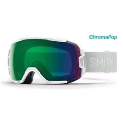 Gogle Smith VICE White Vapor Chromapop Everyday Green Mirror
