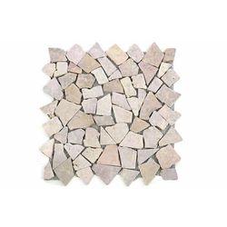 Mozaika marmurowa Garth na siatce różowa 1 mata