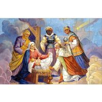 Muzyka religijna, Puzzle dziecięce Boże Narodzenie