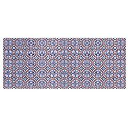 Winylowy chodnik BOGATELL z motywem cementowych płytek – 66 × 160 cm – wielokolorowy