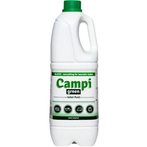 Płyny i żele do czyszczenia armatury, Campi Green płyn do WC turystycznych przenośnych 2 L Płyn do toalety TOI TOI, Preparat do przenośnej kabiny WC