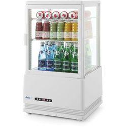 Hendi Witryna chłodnicza nastawna biała wysokość 816 mm - kod Product ID