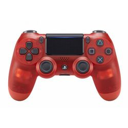 SONY kontroler PS4 DualShock 4 V2, przezroczysty czerwony - BEZPŁATNY ODBIÓR: WROCŁAW!