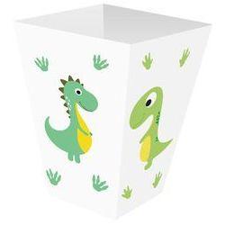 Pudełka na popcorn Wesołe Dinozaury - 6 szt.