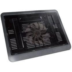 Podstawka chłodząca TRACER do laptopa 15 cali Flow Czarny