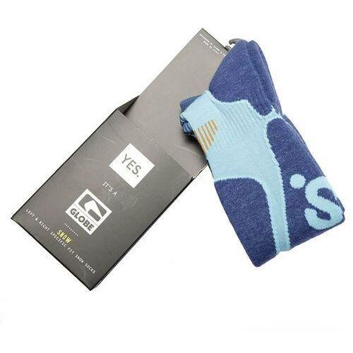 Odzież do sportów zimowych, skarpetki GLOBE - Yes/Globe Park Rat Sock Blue (BLUE) rozmiar: L/XL