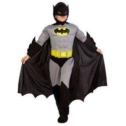 Kostium Bad Man z mięśniami dla chłopca - L - 128 cm