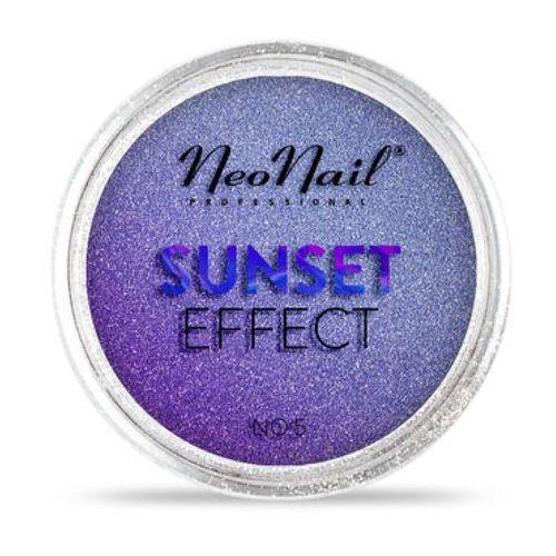 Ozdoby na paznokcie, NeoNail SUNSET EFFECT Pyłek No 05