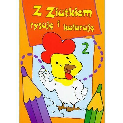 Książki dla dzieci, Z Ziutkiem rysuję i koloruję 2 (opr. miękka)
