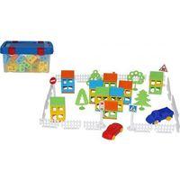 Pozostałe zabawki, Zestaw Wybuduj własne miasto 92 kontener