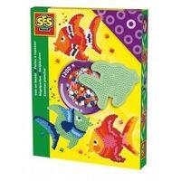 Kreatywne dla dzieci, SES Creative, Koralikowe prasowanki, rybki