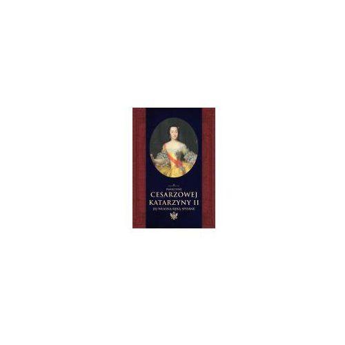 E-booki, Pamiętniki cesarzowej Katarzyny II jej własną ręką spisane
