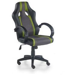 Fotel dla gracza, gamingowy HALMAR RADIX zielony