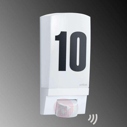 Lampy ścienne, STEINEL 650513 - Kinkiet zewnętrzny z czujnikiem ruchu Steinel 650513 - L1 biały