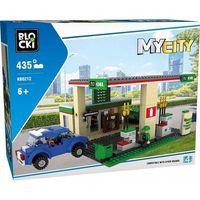 Klocki dla dzieci, Klocki BLOCKI - MyCity Stacja Bezynowa 435 elementów