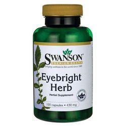Swanson Eyebright Świetlik lekarski 430mg 100 kaps.