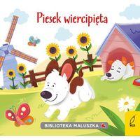 Książki dla dzieci, Biblioteka maluszka. Piesek wiercipięta (opr. kartonowa)