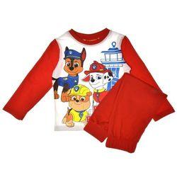 Piżama dziecięca Psi Patrol czerwona - Czerwony ||Biały