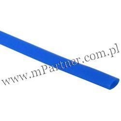 Rura termokurczliwa elastyczna V20-HFT 12/6 niebieska