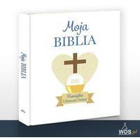 Książki dla dzieci, Moja Biblia. W obwolucie komunijnej (opr. twarda) wyprzedaż 02/2020 (-13%)