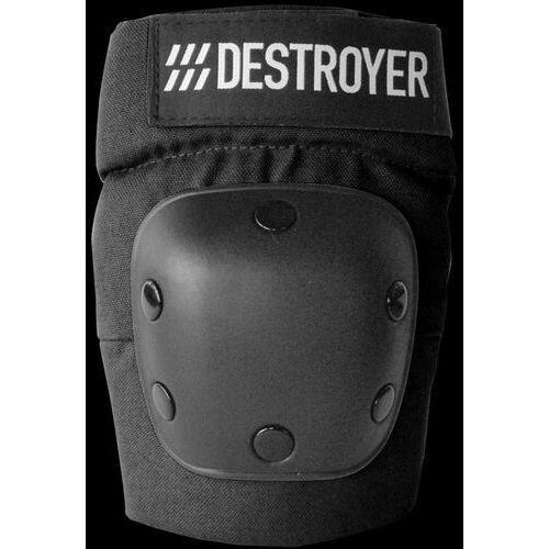 Ochraniacze na ciało, ochraniacze na łokcie DESTROYER - Rec Elbow Black (BLK)