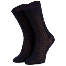 Skarpety Wysokie Męskie JOOP! - New Two Tone Sock I Er 900.078 Navy 3000