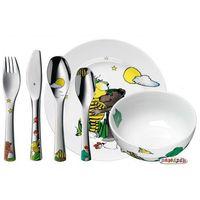 Sztućce dla dzieci, WMF Sztućce i naczynia dla dzieci JANOSCH zestaw 6 sztuk