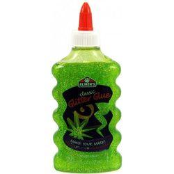 Elmer's PVA klej brokatowy, jasnozielony, 177 ml, zmywalny - doskonały do Slime (2107068). Wiek: 3+