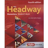 Książki do nauki języka, Headway 4E NEW Elementary SB Pack (iTutor DVD) - John Soars, Liz Soars (opr. miękka)