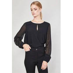 Bluzka z szyfonowym rękawem Rosario - Click Fashion