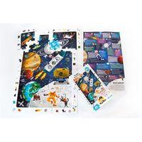 Puzzle, CzuCzu Puzzle obserwacyjne Kosmos - Bright Junior Media