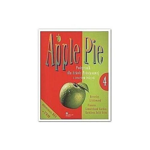 Książki do nauki języka, Apple Pie 4 SP Student's Book + Workbook Język angielski (opr. miękka)