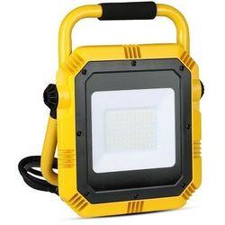 Halogen Reflektor Naświetlacz 50W V-TAC LED na statywie z kablem