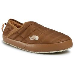 Kapcie THE NORTH FACE - Thermoball Traction Mule V NF0A3UZNVDN UtilityBrown/Bleched Sand