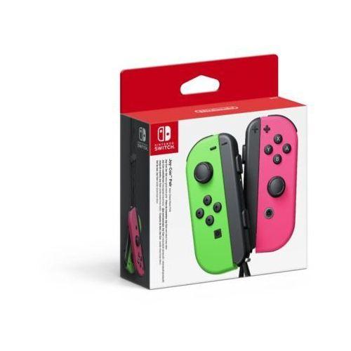 Gamepady, Kontroler NINTENDO Switch Joy-Con Pair Neon Zielony/Różowy