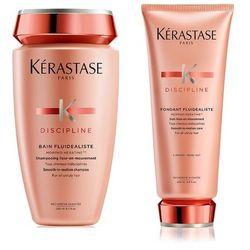Kerastase Fluidealiste | Zestaw dyscyplinujący włosy: szampon + odżywka 250+200ml