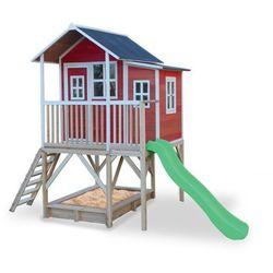 Domek cedrowy dla dzieci EXIT LOFT 550 /czerwony/