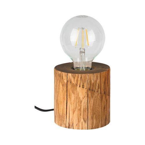 Lampy stołowe, Lampka stołowa TRABO z drewna E27 SPOT-LIGHT