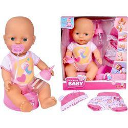 Lalka New Born Baby - Bobas z ubrankami