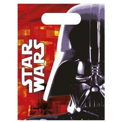 Prezentowe torebki urodzinowe Star Wars - Lord Vader - 6 szt.