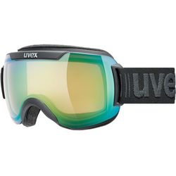 UVEX Downhill 2000 V Gogle, black mat/variomatic green 2019 Gogle narciarskie