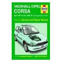 Biblioteka motoryzacji, 99508Vauxhall/Opel Corsa Petrol (Apr 97 - Oct 00) P to X