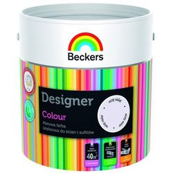Beckers Farba Lateksowa Designer Colour Misty Violet 2,5L