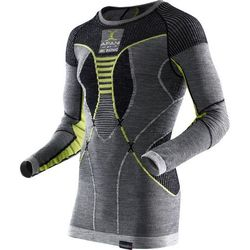 X-Bionic Apani Merino By Fastflow Bielizna górna Mężczyźni żółty/szary S/M 2018 Koszulki bazowe z długim rękawem Przy złożeniu zamówienia do godziny 16 ( od Pon. do Pt., wszystkie metody płatności z wyjątkiem przelewu bankowego), wysyłka odbędzie się tego samego dnia.