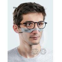 Maski antysmogowe, Mini przyłbica Vitberg Mini Shield ochronna 2 szt. Rozmiar: L | Oryginalny produkt Vitberg polska produkcja